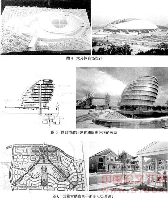 注重建筑设计及其外部空间关系的几种理论观点分析